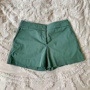 LOFT Seafoam green shorts